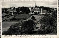Postcard Hohegeiß Braunlage im Oberharz, Höhenluftkurort, Totalansicht
