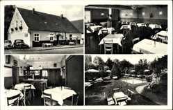 Postcard Dreyen Enger im Kreis Herford, Ausflugslokal zum Dreyer Eck, Wehrenbrecht