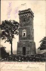Postcard Vlotho in Nordrhein Westfalen, Bismarckturm auf dem Amthausberge