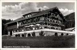 Postcard Bad Wiessee im Kreis Miesbach Oberbayern, Berggasthaus Sonnenbichl