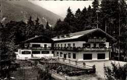 Postcard Ettenhausen Schleching Oberbayern, Hotel Breitenstein, Hans Hörterer