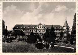 Postcard Hahnenklee Bockswiese Goslar, Hotel Hahnenkleer Hof, H. Knüppel