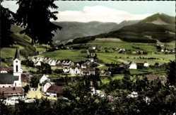 Postcard Oberwinden Winden im Elztal, Blick auf den Ort mit Landschaft