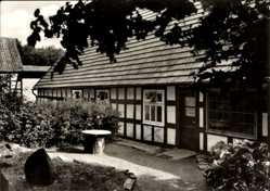 Postcard Stemwede Sundern in Ostwestfalen Lippe, Bauernhof Pension Kreienbrock