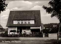 Postcard Bad Harzburg in Niedersachsen, Haus Bergsonne, Fritz König Str. 27, M. Mohr