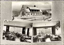 Postcard Torfhaus Altenau im Oberharz, Hotel Das Torfhaus, Inh. Schröter, Winter