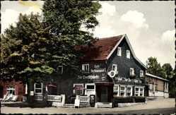 Postcard Drabenderhöhe Wiehl im Oberbergischen Kreis, Cafe Zur Dorfschänke, F. Lang