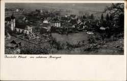 Postcard Ebnet Freiburg im Breisgau Baden Württemberg, Ort, Fliegeraufnahme