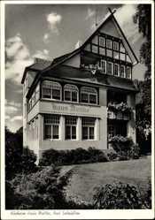 Postcard Bad Salzuflen im Kreis Lippe, Kurheim Haus Moltke, Ursula Tebbe,Moltkestr. 33