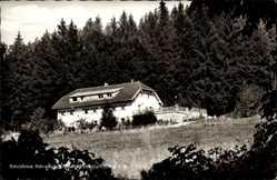 Postcard Waldthurn Oberpfalz, Schutzhaus Fahrenberg, Oberpfälzer Wald