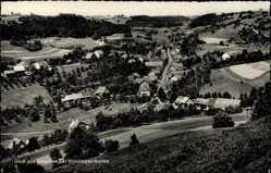 Postcard Mauchen Stühlingen an der Wutach Kreis Waldshut, Totalansicht vom Ort