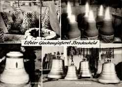 Postcard Brockscheid Rheinland Pfalz, Eifeler Glockengießerei, Modellglocke