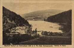 Postcard Schluchsee Schwarzwald, Gasthof Seehof, Bes. A. Mahler