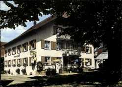 Postcard Altsimonswald Simonswald Schwarzwald, Gasthof Pension Krone Post