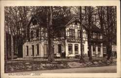 Postcard Bad Salzuflen im Kreis Lippe, Waldrestaurant Zur Loose