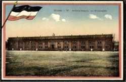 Postcard Minden in Ostwestfalen Lippe, Artillerie Kaserne am Simeonsplatz