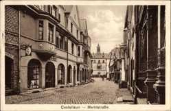 Postcard Kastellaun im Rhein Hunsrück Kreis, Blick in die Marktstraße