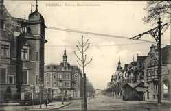Ak Dessau in Sachsen Anhalt, Roon und Blumenthalstraße