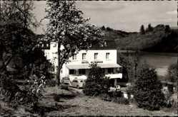 Postcard Sinspelt in der Eifel, Hotel W. Altringer direkt am Wald, Autos