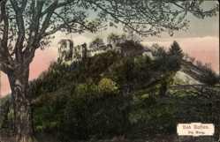 Postcard Nassau im Rhein Lahn Kreis, Blick auf die Burg