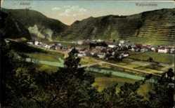 Postcard Walporzheim Bad Neuenahr Ahrweiler, Blick auf den Ort, Berge, Felder
