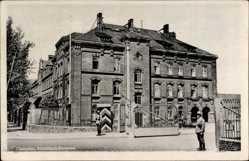 Postcard Chemnitz Sachsen, Partie am Eingang der Kirchbach Kaserne