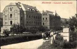 Postcard Bad Münstereifel in Nordrhein Westfalen, Erzbischöfliches Knaben Konvikt