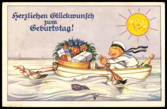 Seemann Geburtstag