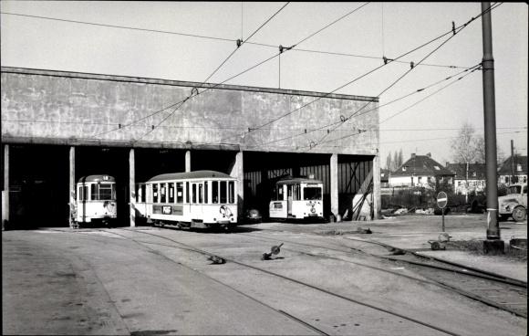 foto neuss in nordrhein westfalen stra enbahnen depot