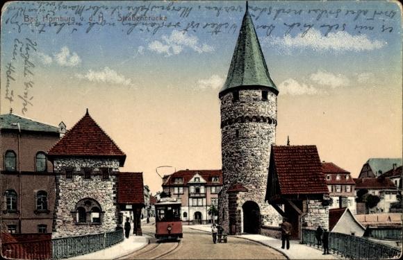 Maritim Bad Homburg Vor Der Höhe : Ansichtskarte  Postkarte Bad Homburg vor der Höhe im Hochtaunuskreis