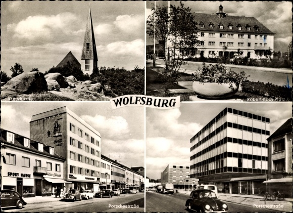 Ansichtskarte postkarte wolfsburg in niedersachsen for Koch vienenburg