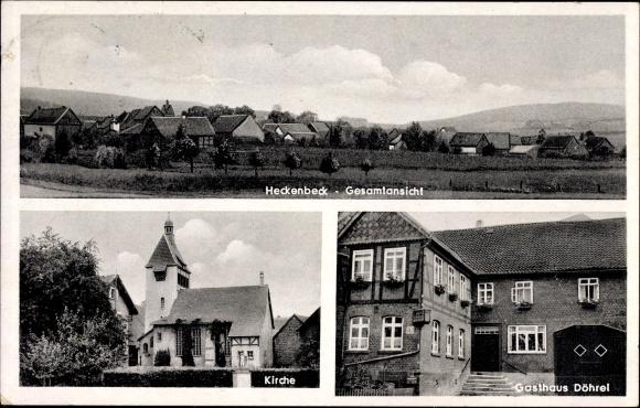 ansichtskarte postkarte heckenbeck bad gandersheim in. Black Bedroom Furniture Sets. Home Design Ideas