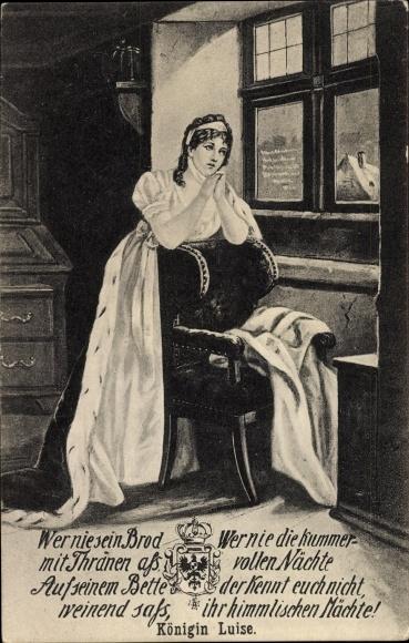 Artist postcard queen luise von mecklenburg strelitz luise von prussia - Meubelen cottage berg ...