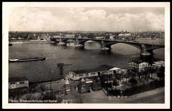 Foto Ansichtskarte    Postkarte Mainz am Rhein, Strassen   akpool de