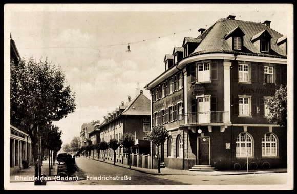 friedrichstrasse rheinfelden