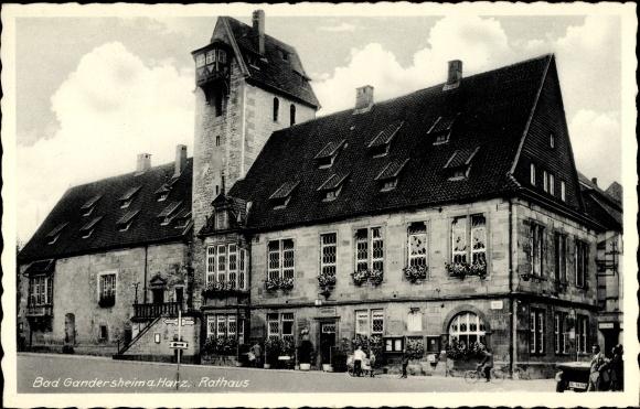 ansichtskarte postkarte bad gandersheim in. Black Bedroom Furniture Sets. Home Design Ideas