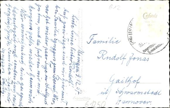 Postcard Usingen Im Hochtaunuskreis Schlossplatz Akpool Co Uk