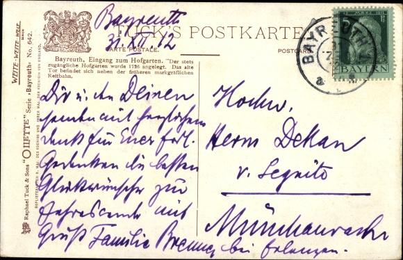 Oberfranken Karte.Künstler Ansichtskarte Postkarte Flower Charles F Akpool De
