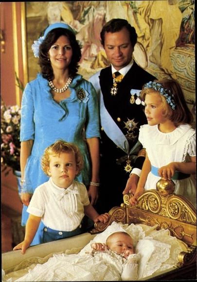 Prinzessin Victoria von Schweden Postkarte