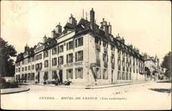 Postcard Nevers F58, Hotel de France, vue exterieure