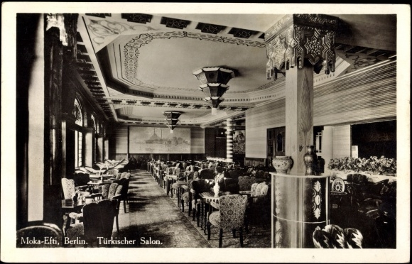 Carte postale berlin t rkischer salon moka efti for Salon carte postale