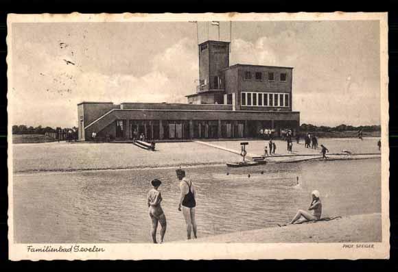 Postcard sevelen issum familien schwimmbad bauhaus for Bauhaus schwimmbad