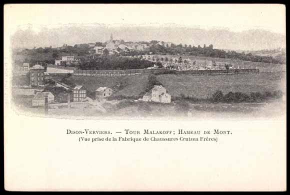 Tour Malakoff Dison Postcard Dison Verviers Tour