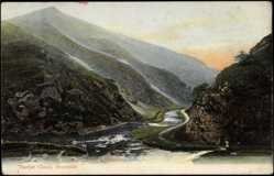 Postcard Dovedale East Midlands, Thorpe Cloud, Mountain Pass