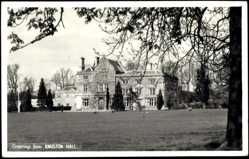 Foto Ak Northhamptonshire, Knuston Hall with Park