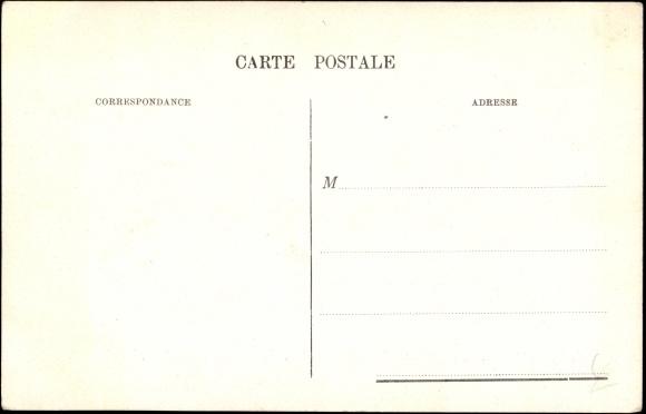 Backside Postcard Kaiser Wilhelm II, Auguste Victoria, Empereur
