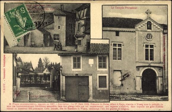 Postcard saint dizier haute marne france le temple for Saint dizier haute marne