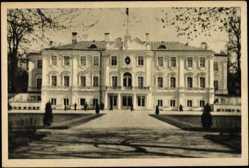 Postcard Tallinn Estland, Kadrioru loss, Palast, Front