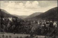 Postcard Tabarz Thüringer Wald, Lauchagrund, Tennisplatz