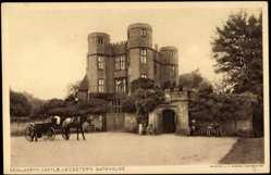 Postcard Warwickshire East Midlands, Kenilworth Castle, Gate